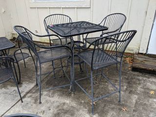Patio Table With Four Chairs
