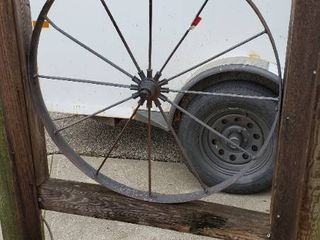 36in Wagon Wheel