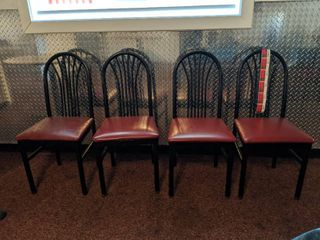 4  Chairs  First Come First Served