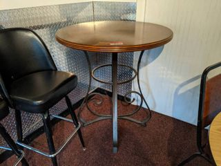 High top Table And 3 Bar Stools