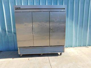 True 3 Door Cooler