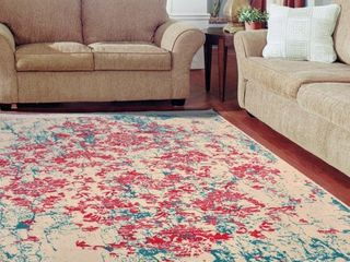 Passion Fruit Vintage Area Rug 3 ft  by 5 ft