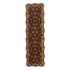 Handmade Mahal Wool Runner  India    2  x 7  Retail 94 49