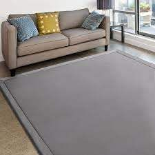 MICRODRY Cushioned Modern Memory Foam Area Rug with Built in Rug Pad   Easy Clean   Stain   Fade Resistant  6  x 8  Retail 159 99