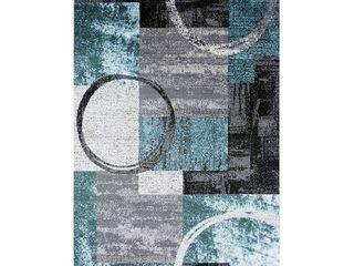 OSTI Abstract Polypropylene Machine Made Circle Area Rug  Retail 82 49