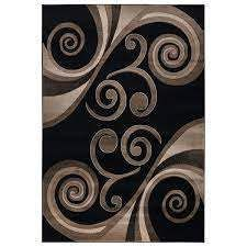 Orelsi Collection Abstract Area Rug  Retail 133 49