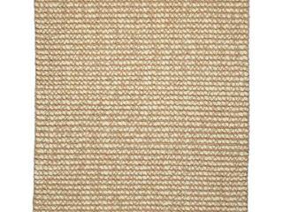 Jani lhasa Ribbed loop Wool and Jute Rug  Retail 239 99