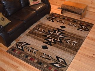 The Curated Nomad Cabrillos Hearthside Geometric Southwest Rug