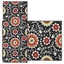 The Curated Nomad Rosemont Runner and Throw Rug Set   2  x 5  Retail 85 99