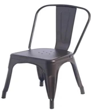 Carbon loft Ruiz Industrial Metal Dining Bistro Chairs   Set of 2