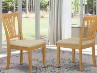 Copper Grove Siuslaw Oak Finished Dining Chairs   Set of 2