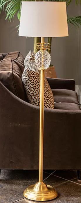 Delila Pineapple Font Floor lamp
