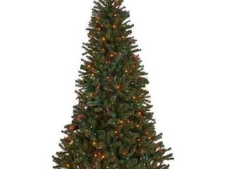 Noble Fir Hinged Artificial Christmas Tree by Christopher Knight Home