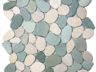 Interlock Pebble Tile   11 Pack