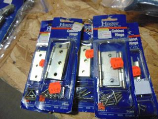10  CABINET HINGES