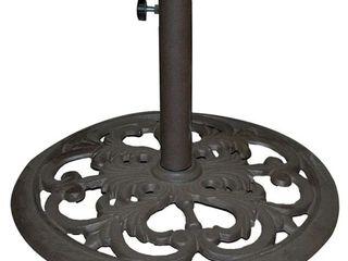 Tropishade cast iron umbrella base 30 pound