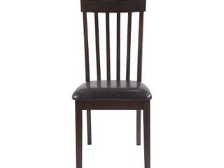 Hammis Dining Room Chair   Set of 2   Dark Brown Retail 128 99