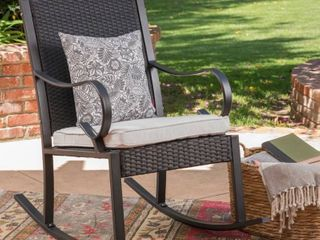 Harmony Outdoor Rocking Chair by Christopher Knight Home