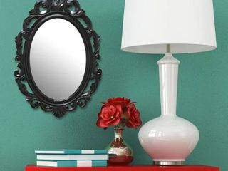 The Curated Nomad Hokona Black Baroque Mirror