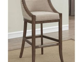 Memphis 26 inch Brown Birch and Fabric Counter Stool by Greyson living  Memphis Counter Stool Retail 214 99
