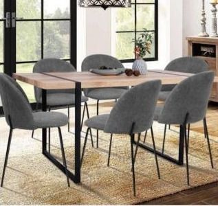 Vexa Beech Color Dining Table by FurnitureR  missing hardware