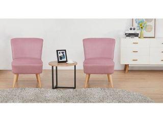 2 Pack Artdeco Home Charleston Accent Chairs