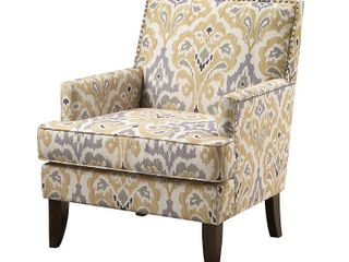 Madison Park Charlie Grey Track Arm Club Chair Retail 258 49