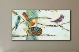 The Gray Barn Ninalee Irani s Birds in Trees  Gallery Wrapped Canvas