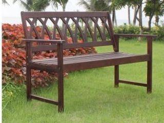 Jacksonville Criss Cross Garden Bench by Havenside Home Retail 115 99