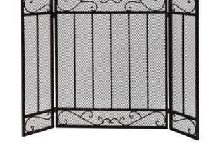 Cheswold Contemporary Three Panel Fireplace screen by Christopher Knight Home Retail 115 99