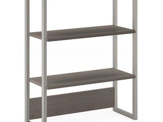 BBF Method by Kathy Ireland Bookcase Hutch in Cocoa