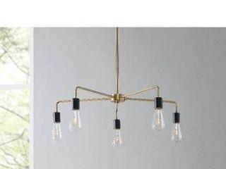 Carson carrington home hopson 5 light spider chandelier
