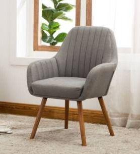 Carson Carrington Fellingsbro Pleated Fabric Accent Chair Retail 113 99