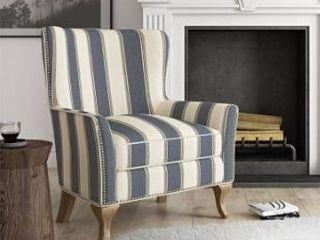 Avenue Greene Terri accent chair blue