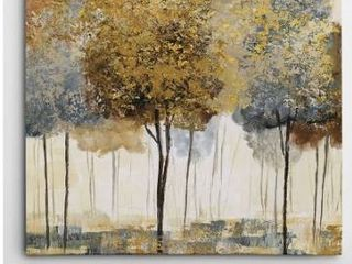 Wexford Home  Metallic Forest II  Gallery Wrapped Art Retail 75 98