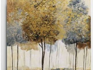 Wexford HomeMetallic Forest I Hand Wrapped Wall Art Retail 97 99