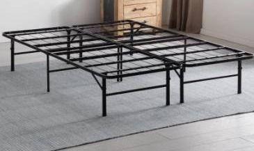 Porch   Den Palouse Folding Platform Bed Frame Retail 139 49  King size