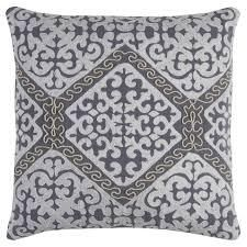 16in x 19in Upholstered Design Throw Pillow