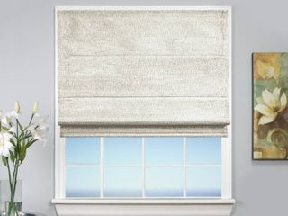 lot of 3   Monet Cordless Thermal Insulated  Room Darkening  Cordless Roman Shades  38  W x 63  l
