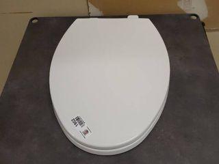 white toilet seat 18x15