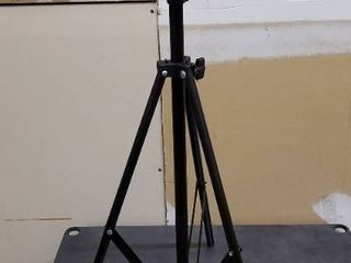 camera stand black extends up to 50 in
