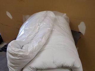Mattress Pad white 60x80x18in 100  cotton