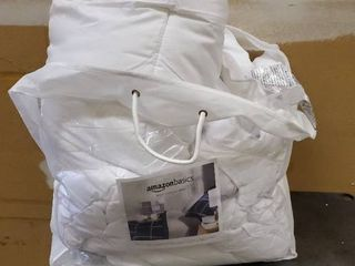 Mattress Topper white 88inx88in   224cmx224cm