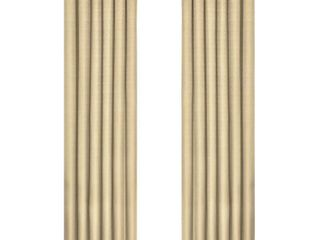 63 x42  Kendall Thermaback Blackout Curtain Panel Tan   Eclipse
