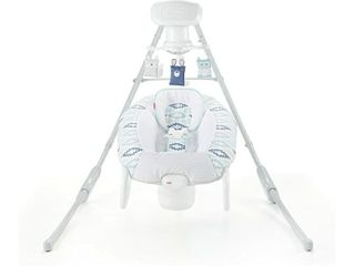 Fisher Price Woodsy Wonders 2 in 1 Deluxe Cradle  n Swing  Missing Stabelizers For Cradle Section