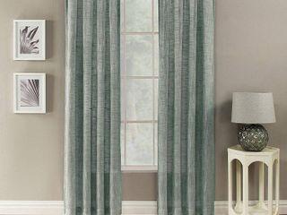 lot Of 2  Channon Window Curtain  Blue  50X108