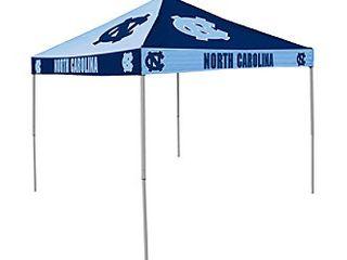 logo Brands NCAA North Carolina Tar Heels 9 x 9 Foot Pinwheel Tailgating Canopy  Dark Blue light Blue  One Size