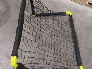 Franklin Sports MlS Insta Set Plastic Soccer Goal Set  24  D x 24  H x 35 5  W