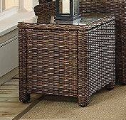 Crosley furniture outdoor wicker end table