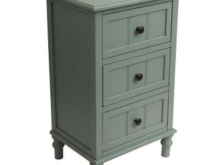 Copper Grove Hoxie Three Drawer Accent Table  Retail 146 49